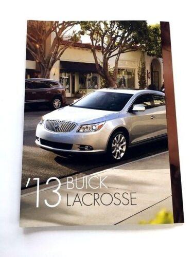 2013 Buick LaCrosse 30-page Original Sales Brochure Catalog