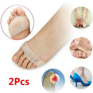 Forefoot-Insoles-Gel-Silicone-Foot-Pads-Relief-High-Heel-Shoe-Pain-Toe-Splitter