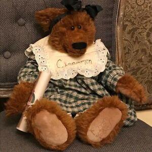 NEW-St-Martin-Homespun-Collection-Limited-Edition-TEDDY-BEAR-Cinnamon-Artist-COA