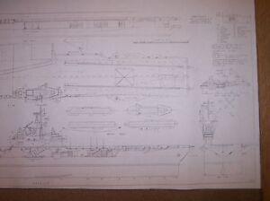 USS SHANGRI LA SHIP PLAN CVA36