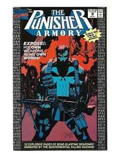 MARVEL-COMICS-THE-PUNISHER-ARMORY-Vol-1-No-2