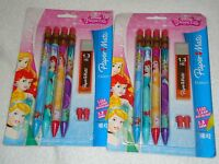 Paper Mate Mates Mechanical Pencils 1.3 Mm Hb 2 Disney Princess 8 Pencils