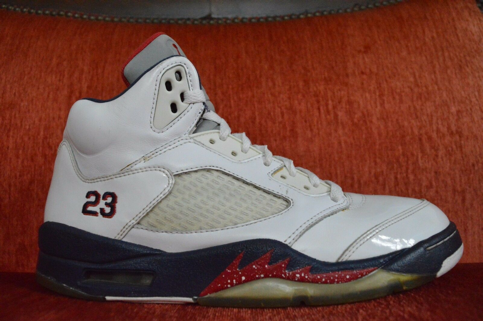 low priced b987b 540f8 Nike Air Jordan Jordan Jordan 5 retro V dia de independencia confortable el  mas popular de