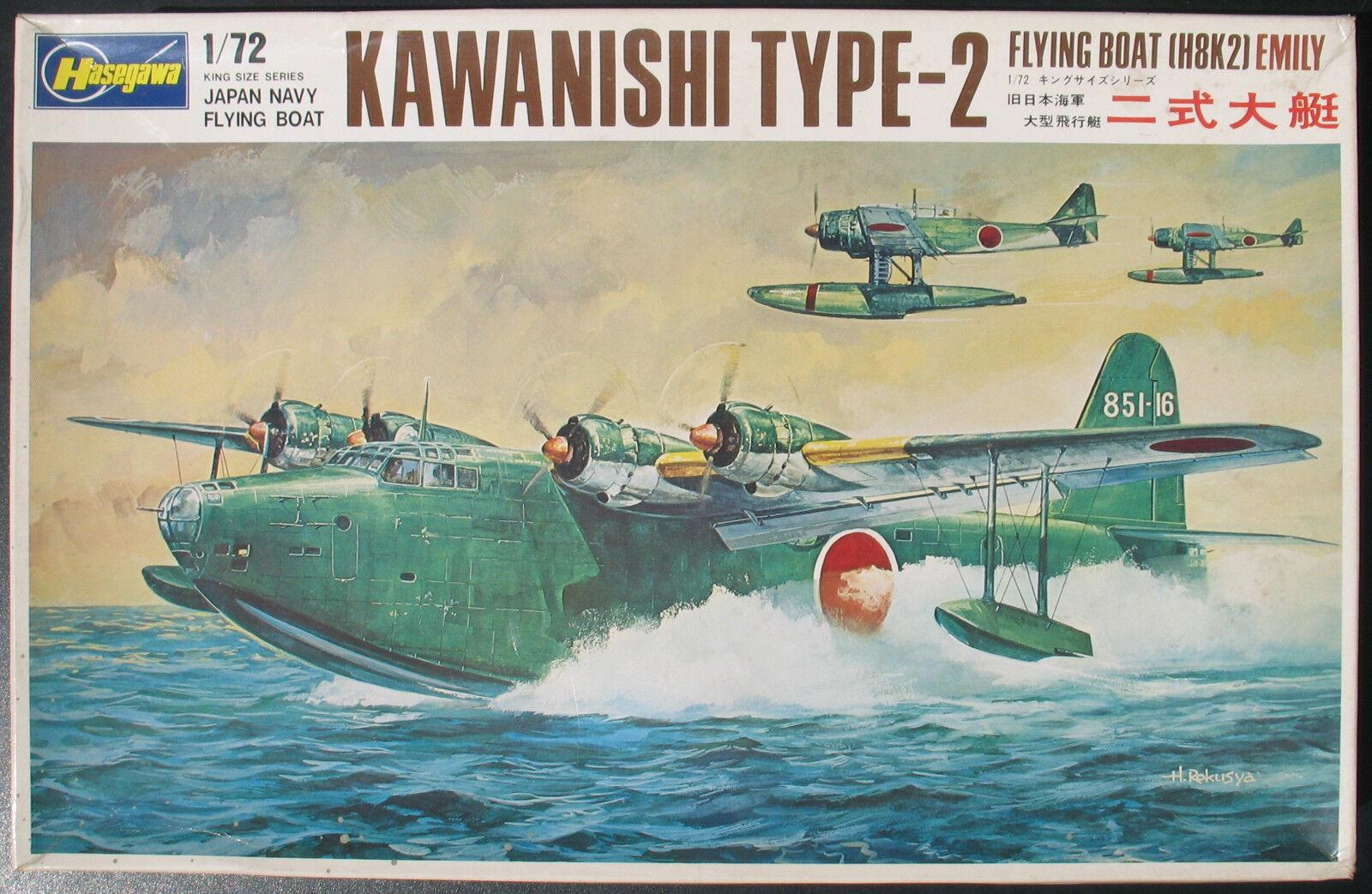 Hasegawa JS 21 1200 - KAWANISHI TYPE-2 (H8K2) EMILY- 1 72 - Flugzeug Bausatz KIT    Neue Produkte im Jahr 2019