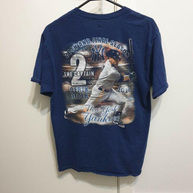 Vintage New York Yankees MLB Derek Jeter Retirement Tee Size Medium