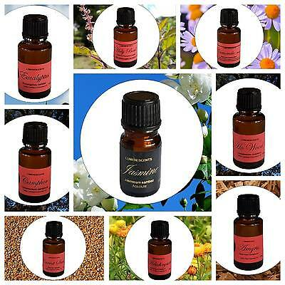 Aromatherapy 100% Pure Certified or Certified Organic Essential Oils  -  A to N