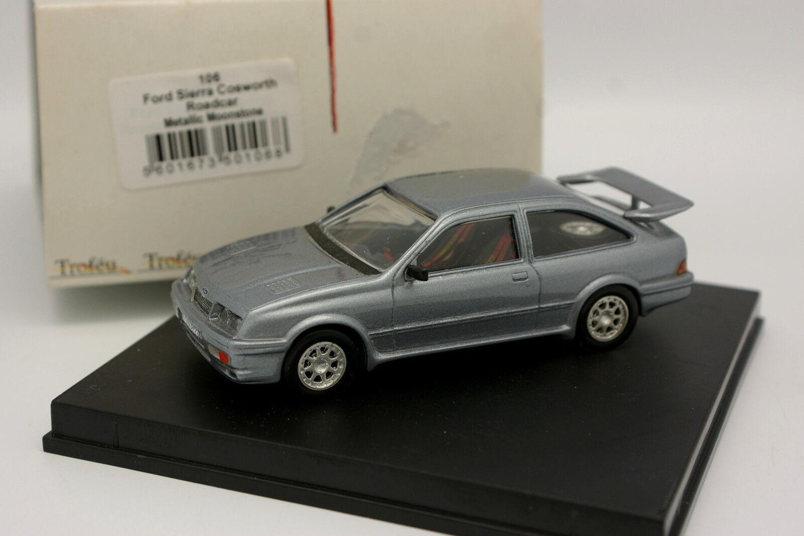 Trofeu 1 43 - Ford Sierra Cosworth Metallic Moonstone