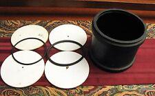 Rock Tumbler Rubber Barrel Parts Lot Lapidary Rock Gemstone Grinding Polishing