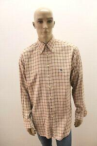 Camicia-ETRO-Uomo-Shirt-Chemise-Camisa-Bluse-Blusa-Man-Taglia-Size-44-XL