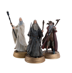 Hobbit Lord of the Rings Istari Wizards Figurine Set Figure Eaglemoss
