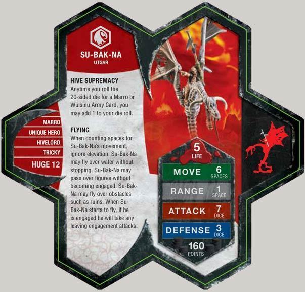 Su-Bak-Na Used Heroscape  Orm's Return