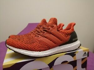 2dbb6e411 Adidas Ultra Boost 3.0 Energy Red Mens Shoes Sz 10 S80635