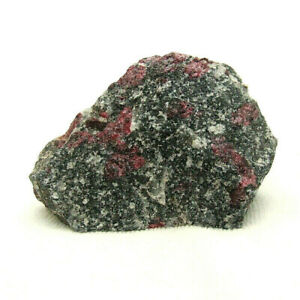 Pink-Ruby-in-Gneiss-Natural-Raw-Mineral-Specimen-132g-6-5cm-Unpolished-Norway