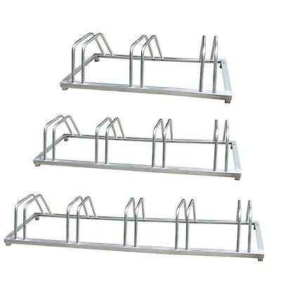 3 4 5 BIKE BICYCLE CYCLE FLOOR WALL MOUNT RACK STAND SECURE STORAGE BIKES