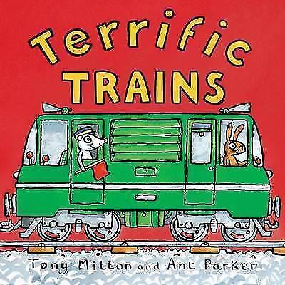 "1 of 1 - ""AS NEW"" Terrific Trains (Amazing Machines), Mitton, Tony, Book"
