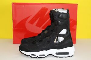 Details about Nike Air Max 95 Womens Size 7 Nikelab Empire Leather Black White Rare New $300
