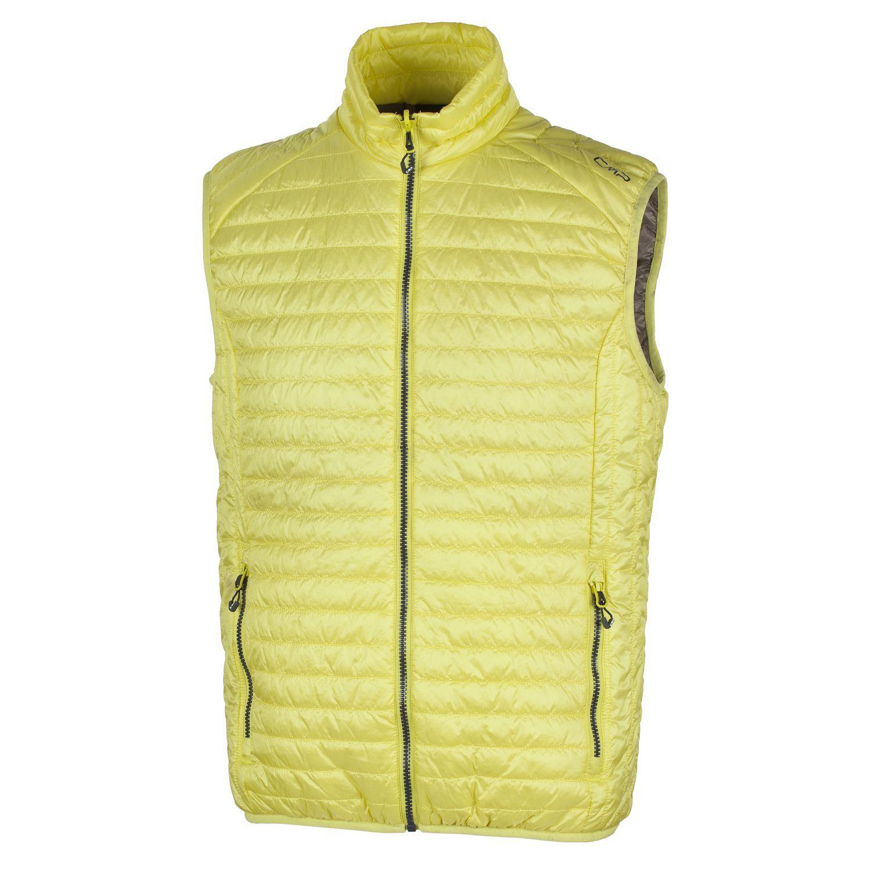CMP Funktionsweste Outdoorweste Bodywarmer yellow Primaloft  wärmend