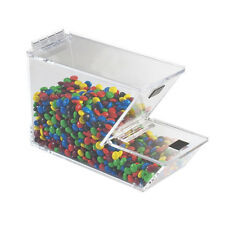 Ice Cream Toppings Bulk Bin Acrylic With Magnetic Solid Lid