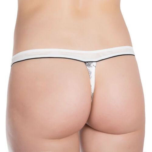 """New Womens Panties String//Thong From ROSME Collection /""""DREAMY/"""" 594530-004"""