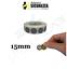 miniatuur 2 - Bollini Scratch off modello gratta e vinci adesivi a cerchio in vari colori