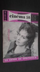 Revista-Mensual-Dibujada-Cinema-N-30-Septiembre-Octubre-1958-Buen-Estado