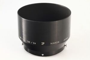 Nikon-Metal-Hood-for-Nikkor-P-Auto-105mm-F-2-5-Lens-034-Exc-From-Japan