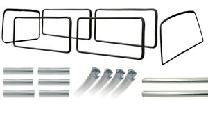 Window-Seal-Bundle-Kit-VW-T25-T3-1984-1992-With-Chrome-Trim-Top-Quality