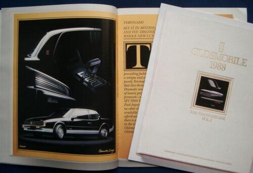 USA CUSTOM CRUISER PROSPEKT BROCHURE 1988 Oldsmobile Ninety-eight Toronado