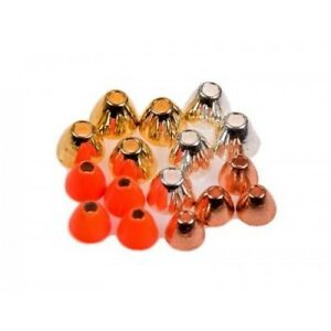 Tungsten-coneheads-for-fly-tying-Eumer-TUBE-FLY-Coneheads-Choice-colour-size