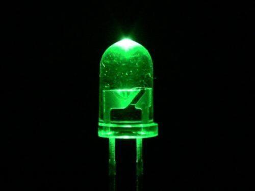 Schrumpfschlauch 10 Grüne 3mm Leds Widerstände