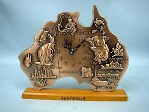 Quartz Copper Clock of Australia
