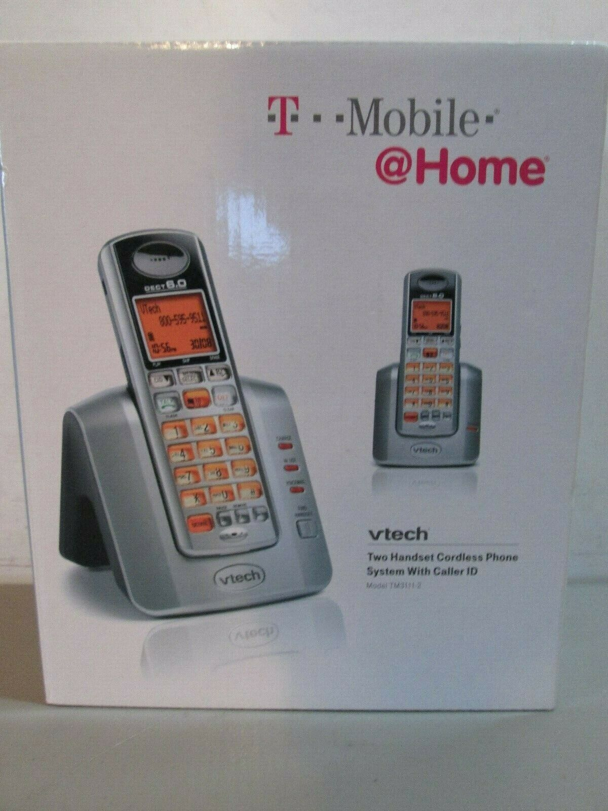 Vtech 6.0 DS3111-2 Cordless Phone System Lot of 2// 4 Phones Total DS3111-2