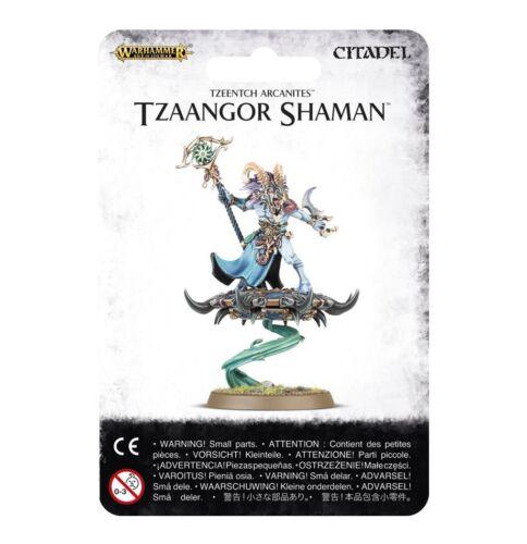 Tzaangor Shaman Tzeentch Arcanites Warhammer Age of Sigmar NIB Flipside