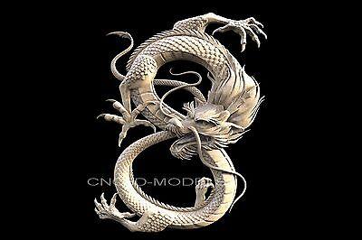 3D STL Models for CNC Router Engraver Carving Artcam Aspire Dragon Clock 285