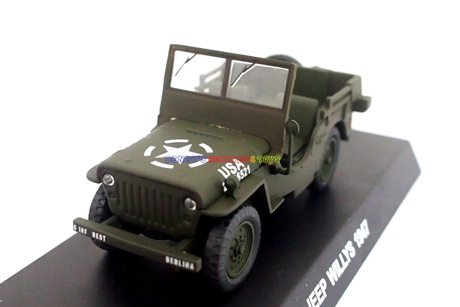 New New New 1/43 Diecast Tank US Willis Jeep WWII Vehicle Military Model Toy Soldiers 9dd23c