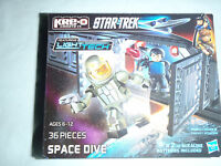 Kre-o Star-trek Space Dive A3138 36 Pieces Ages 6-12