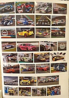 1/18 Diorama Btcc Garage Poster 0133-