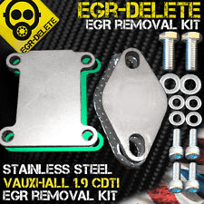 EGR blanking plate Vauxhall Astra Vectra Zafira 1.9 CDTI 150 bhp Z19DTH removal