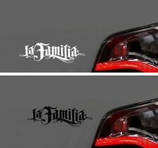 Aufkleber LA FAMILIA Familie Sticker DUO OEM SUB STYLE NEU HATERS shocker hater