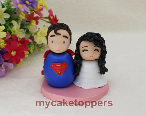 cute cake topper superman,cute wedding cake topper custom wedding cake topper