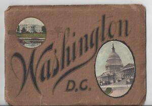 "Vintage Washinton D.C. Travel Booklet "" Seeing Washington """