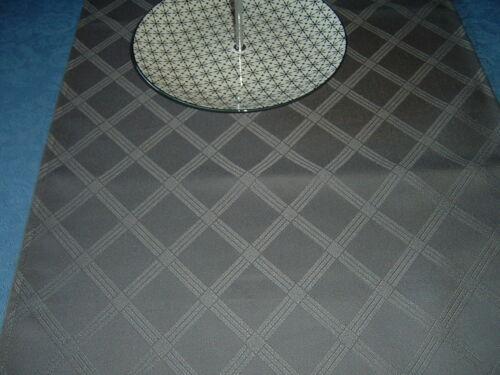DAMAST Läufer  Tischläufer Gastroware  grau   130x40  cm   NEU 5 Stück