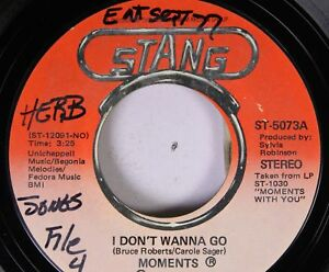 Soul-45-Moments-I-Don-039-T-Wanna-Go-Oh-I-Could-Have-Loved-You-On-Stang