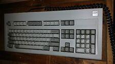 Near Mint IBM Square Logo Model M Clicky Buckling Spring AT Keyboard Oct 29 1986