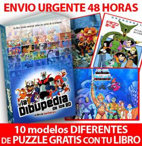 Libro-DIBUPEDIA-de-los-80-PUZZLE-GRATIS-10-MODELOS-a-ESCOGER