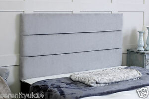 QUALITY-ETON-CHENILLE-HEADBOARD-ALL-SIZES-amp-VARIOUS-COLOURS-AVAILABLE