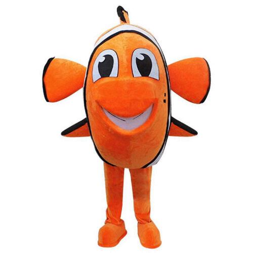 La pubblicità Nemo Pesce Costume da alla ricerca di Nemo Mascotte Halloween Abito per adulti
