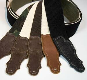 Franklin-Strap-Cotton-Guitar-Strap-Glove-Leather-End-Tab