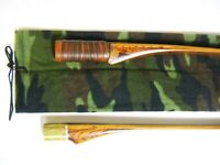 Traditional Archery Take-down Long Bow Sock Woodland Camouflage Fleece
