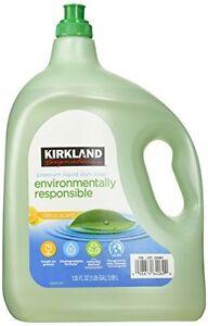 NEW-135oz-Kirkland-Eco-Friendly-Liquid-Dish-Soap-Citrus-Scent-1-05-Gallon-Total